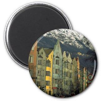 Innsbruck, Austria en Europa Imán Redondo 5 Cm