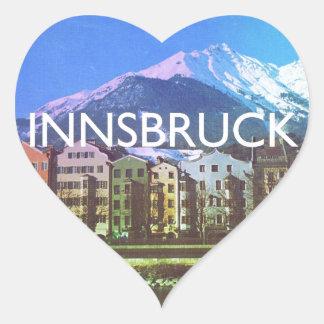 Innsbruck Heart Sticker
