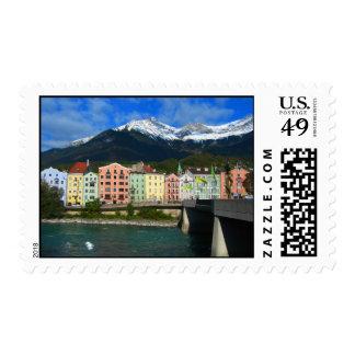 Innsbruck Postage Stamp