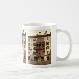 Innsbruck, the Golden Porch, Tyrol, Austro-Hungary Classic White Coffee Mug