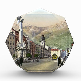 Innsbruck, Tram in  Maria Theresa Starsse Acrylic Award