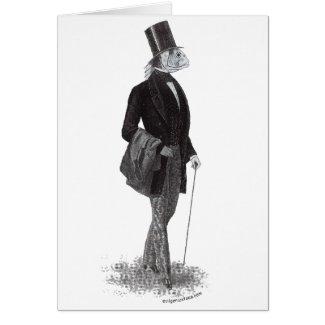 Innsmouth lovecraft gentleman greeting card