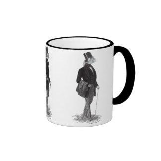 Innsmouth lovecraft gentleman ringer coffee mug