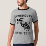 Innsmouth Swim Team tee - light distressed