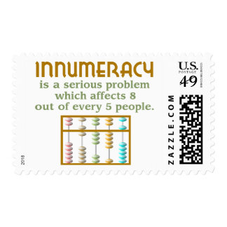 Innumeracy Postage Stamps