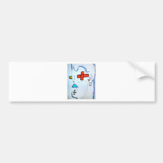 Innumeral Man Bumper Sticker