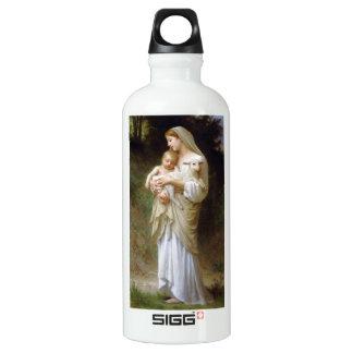 Inocencia de Bouguereau Botella De Agua