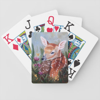 Inocencia del cervatillo cartas de juego