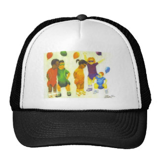 Inocencia del niño gorras de camionero
