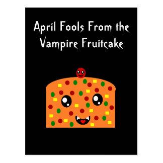 Inocentes del fruitcake del vampiro postales