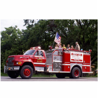 Inola Oklahoma Fire Truck Cutout