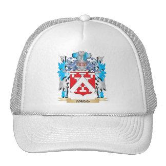 Inoportunamente escudo de armas gorras