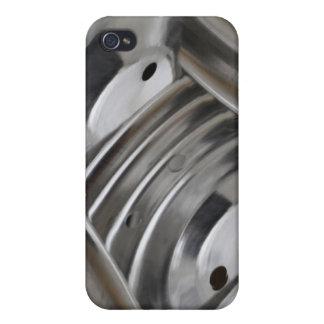 Inox ustensile iPhone 4 fundas