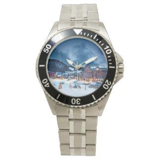 Inoxidable para hombre de Winterpark Reloj