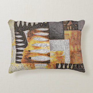 """"""" Inpiration 70's"""" by CR Sinclair Accent Pillow"""