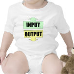 Input_Output_Green_Yellow Baby Bodysuits
