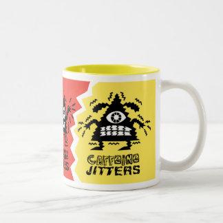 Inquietudes del cafeína de la taza