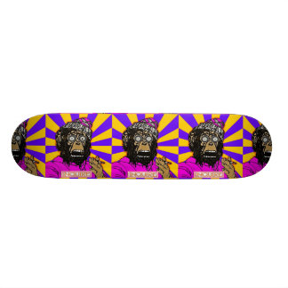 Inquire (Shock the Monkey) Skateboard