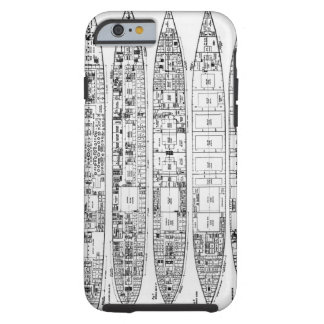 Inquiry in the Loss of the Titanic: Cross sections Tough iPhone 6 Case