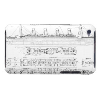 Inquiry into the Loss of the Titanic: Cross sectio Barely There iPod Cover