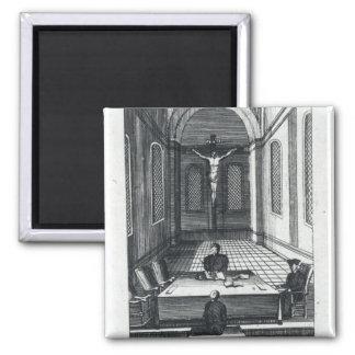 Inquisition Interrogation 2 Inch Square Magnet