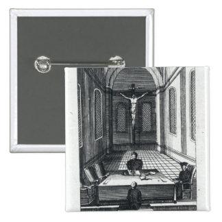 Inquisition Interrogation 2 Inch Square Button