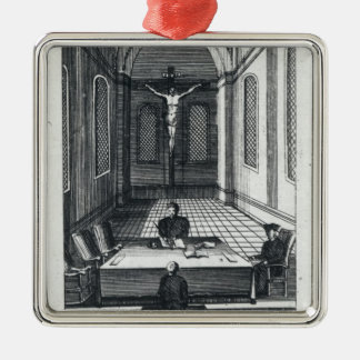 Inquisition Interrogation Metal Ornament