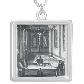 Inquisition Interrogation Silver Plated Necklace