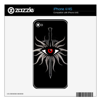 Inquisition Symbol Decal For The iPhone 4