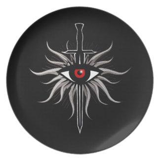 Inquisition Symbol Melamine Plate