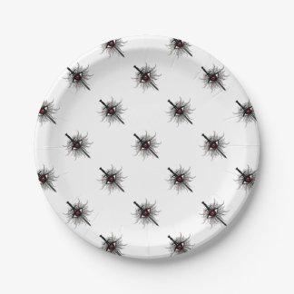 Inquisition Symbol Paper Plate