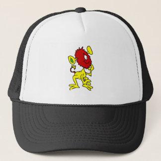 Inquisitive Alien Trucker Hat