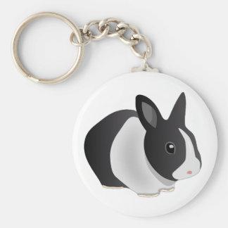Inquisitive Bunny keychain