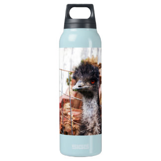 Inquisitive Emu Insulated Water Bottle