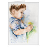 Inquisitive Minds - Fine Art Greetings Card
