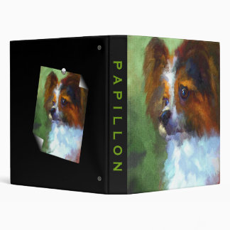 Inquisitive Papillon Art Binder Album