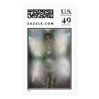 Inquizitive Angel postage