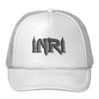 INRI Pointes pierre 3D Hat