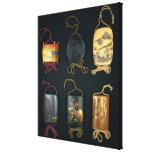 Inro Cases, 19th century Gallery Wrapped Canvas