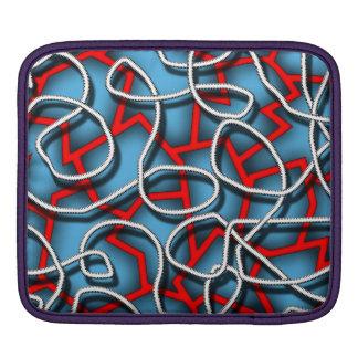 Insane abstract art iPad case