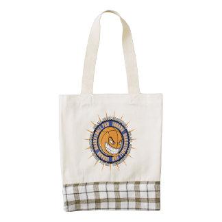 Insane Basketball Fan Zazzle HEART Tote Bag