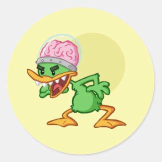 Insane duck - Insane duck Classic Round Sticker
