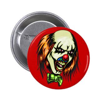 Insane Evil Clown 2 Inch Round Button