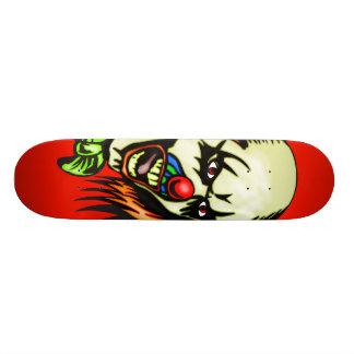 Insane Evil Clown Skateboard