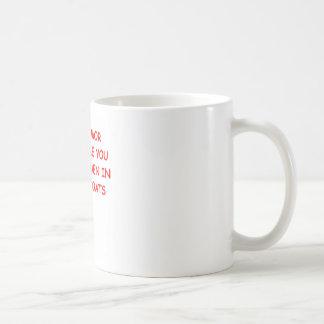 insane classic white coffee mug