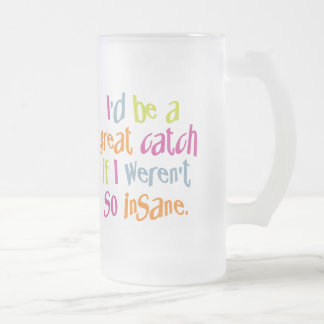 Insane mug - choose style & color