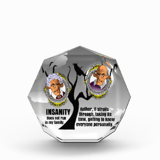 Insanity Acrylic Award