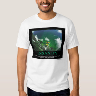 Insanity, by Despair.com T-shirt
