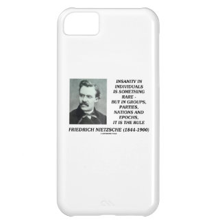 Insanity In Individuals Something Rare Nietzsche iPhone 5C Case