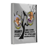 Insanity iPad Folio Cover
